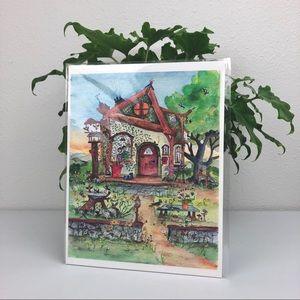 Raven Rocks Studio Fine Art Print Heart's Home by